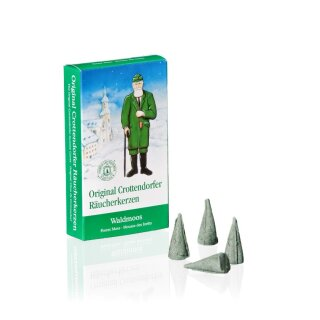Incense cones moss