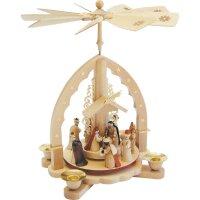 Weihnachtspyramide Christi Geburt Richard Glässer