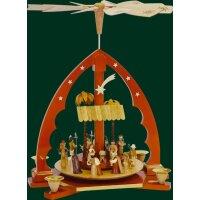 Richard Glässer Pyramide Christi Geburt