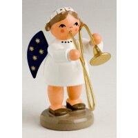 KWO angel with trombone