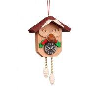 Christian Ulbricht tree decoration cuckoo clock with moose