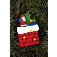 Christian Ulbricht tree decoration fireplace with Santa...