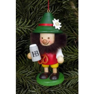 Christian Ulbricht tree decoration Bavarian