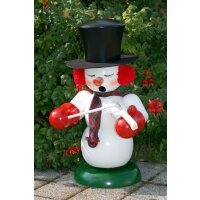 Christian Ulbricht smoker snowman with violin