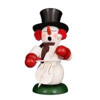Christian Ulbricht smoker snowman with bass