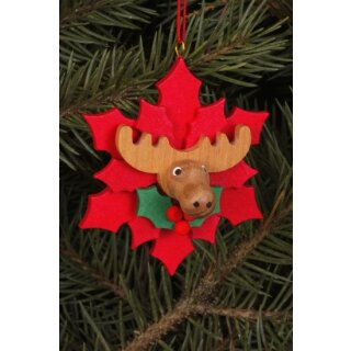 Christian Ulbricht tree decoration Christmas star with...