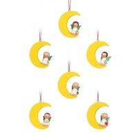 Christian Ulbricht Baumbehang Miniengel im Mond