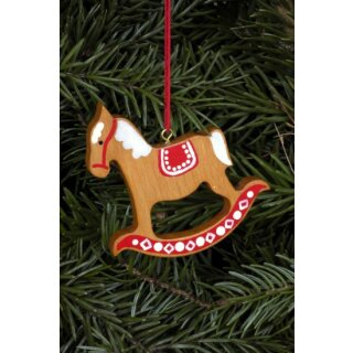Christian Ulbricht tree decoration gingerbread horse big...