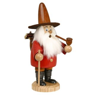 DWU Smoker wood collector red
