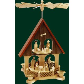 Richard Glässer pyramid house Christi nativity