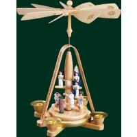 Richard Glässer Pyramide Engeltreppe mit Christi Geburt
