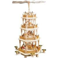 Richard Glässer Pyramide Christi Geburt natur