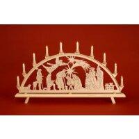 Baumann candle arch motif Christ nativity