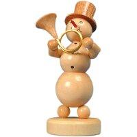 Wagner snowman musician horn player