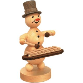Wagner snowman musician xylophone player