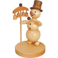 Wagner snowman musician bell player