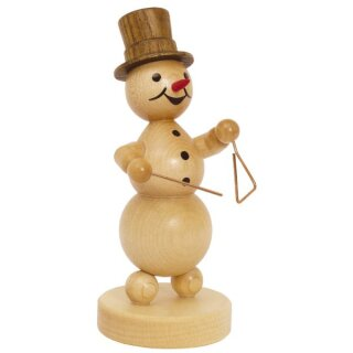 Wagner snowman musician triangle player