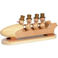 Wagner snowman four man bob with cylinder