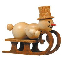 Wagner snowman racing sled driver without substructure