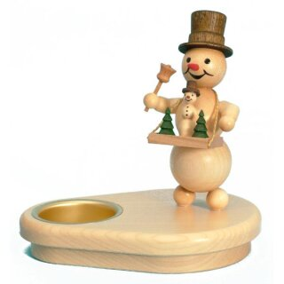 Wagner snowman chandelier with stomach store for 1 tealight