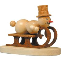 Wagner snowman racing sled driver