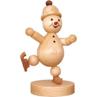 Wagner snowman junior ice runner on one leg