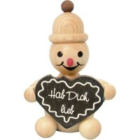 Wagner snowman junior with gingerbread heart