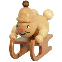 Wagner snowman junior racing sled driver