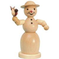Wagner smoking snowwoman with bird