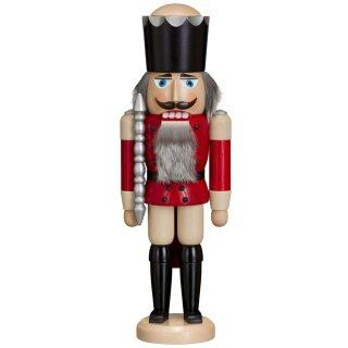Mini-Nussknacker KÖNIG rot NEU Baumbehang Erzgebirge Weihnachten Nutcracker