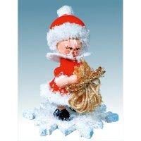 Kuhnert snowflake as Santa Claus