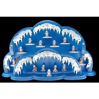 Kuhnert snowflake illuminated cloud