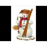 Hubrig smoker snowman