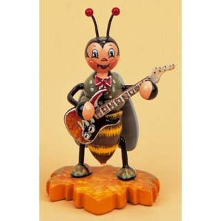 Hubrig bumblebee with electric guitar
