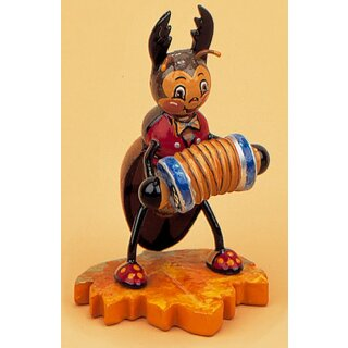 Hubrig stag beetle with accordion