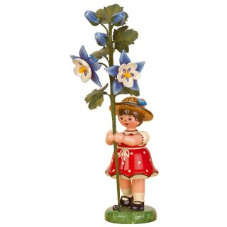 Hubrig flower kid - flower girl with columbine