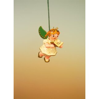 Hubrig tree decoration angel with song book
