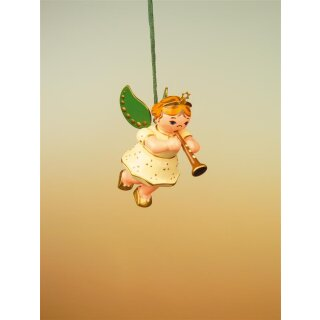 Hubrig tree decoration angel with clarinet
