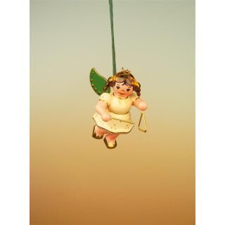 Hubrig tree decoration angel with triangle