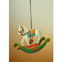 Hubrig tree decoration rocking horse