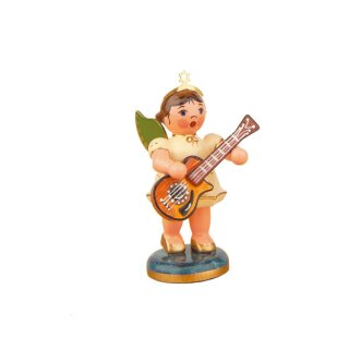 Hubrig angel with acoustic guitar