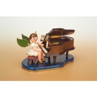 Hubrig angel - piano with music box