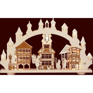 Saico 3D candle arch old town