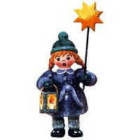 Hubrig winter kids girl with star and lantern