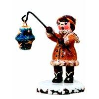 Hubrig winter kids girl with starry sky lantern