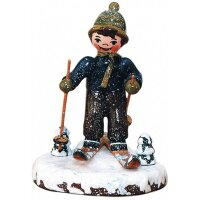 Hubrig winter kids snowshoeing