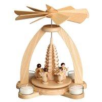 Unger Tischpyramide Engel Ringelbaum für Teelichte