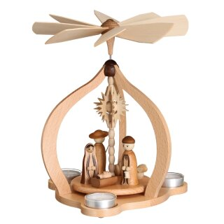 Zeidler table pyramid nature with Christi nativity