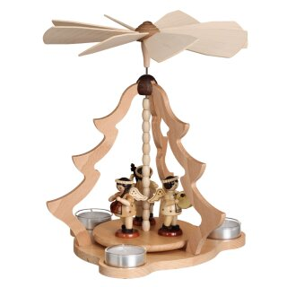 Zeidler table pyramid big with 3 angels