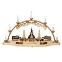 Zeidler candle arch church of Seiffen with lantern children